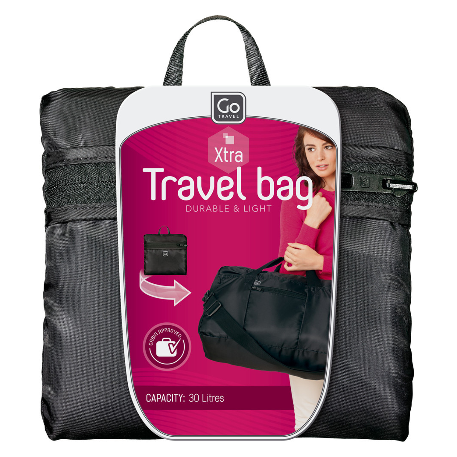1684789f57fb Go Travel Travel Bag Xtra (Black)